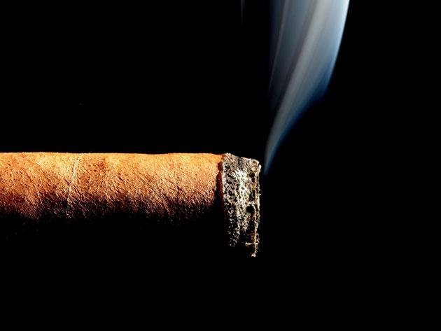 Моя сигара горит неравномерно. Что делать?